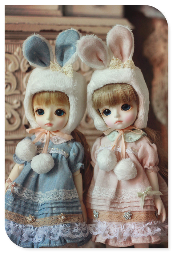 Bunny Sister Dress Set for YOSD design by ChillyQi