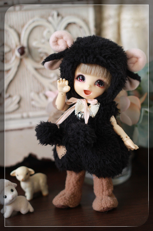 Pukifee size sheep outfit by ChillyQi