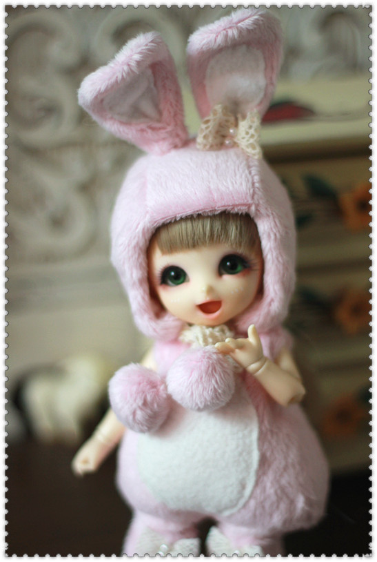 Bunny Outfit (Pink) For Lati Yellow or PukiFee design by ChillyQi