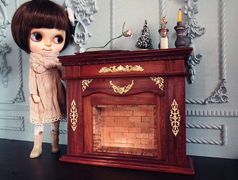 Doll's Furniture By ChillyQi Handmade, 100% natural rosewood, no paint, no staining (coated with food grade wax).
