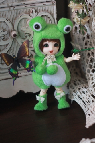 Frog Outfit For Lati Yellow or PukiFee design by ChillyQi