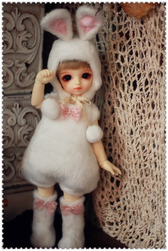 Bunny Outfit For YOSD / LittleFee design by ChillyQi