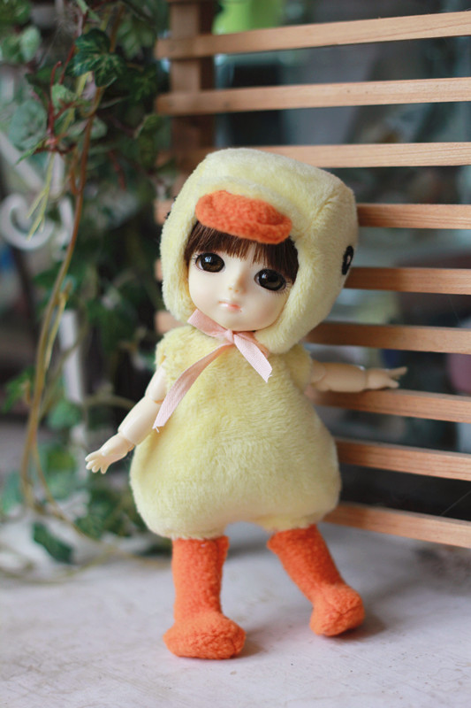 Ducky Outfit For Lati Yellow or PukiFee design by ChillyQi