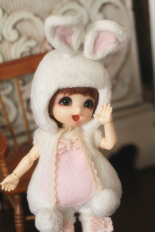Cute costume for Lati Yellow or PukiFee design by ChillyQi