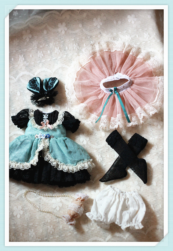 Yosd cloth, summer candy bunny set