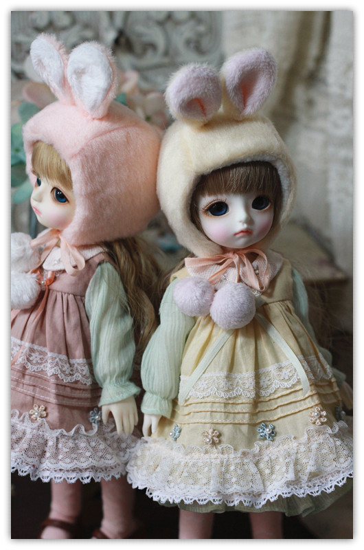 YoSD-Bunny Dress Set 2nd design by ChillyQ
