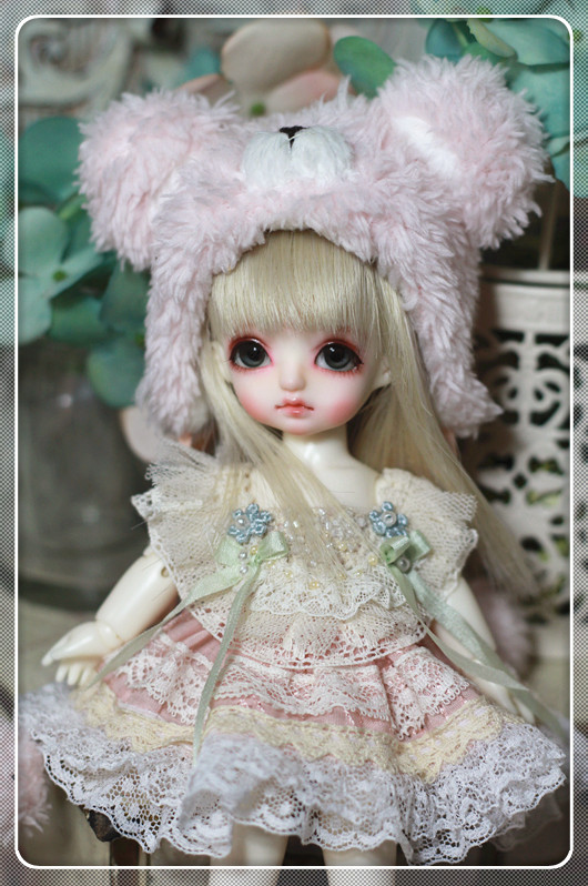 PukiFee-Pink Bear Dress Set design by ChillyQi