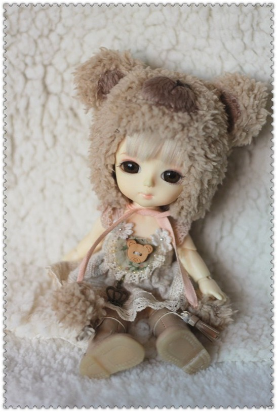 Bear Dress Set for Pukifee / Lati Yellow Design and Make By Chilly QI