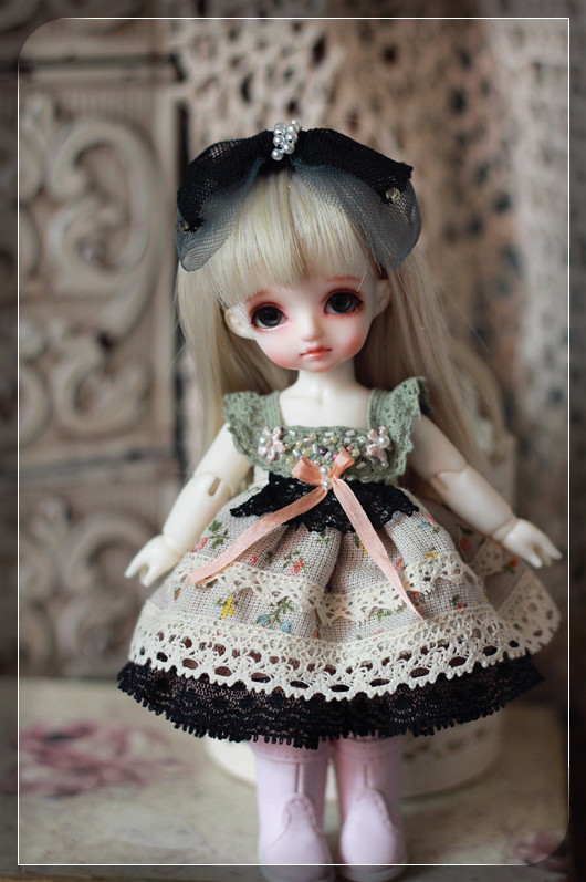 Miss Sheep Dress Set (4items) for Pukifee or Lati Yellow design by ChillyQi