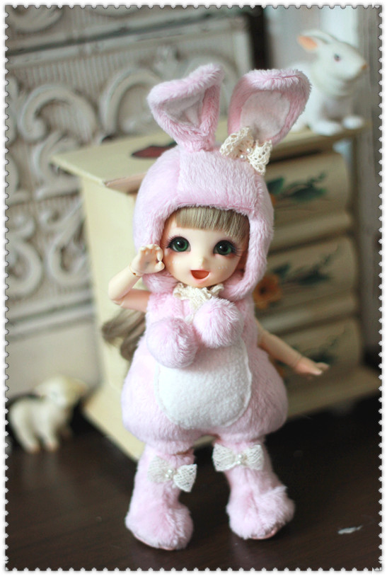 Bunny clothes for Pukifee / Lati Yellow Design and Make By Chilly QI