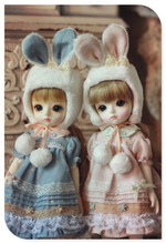 Yosd Bunny Sister Dress Set
