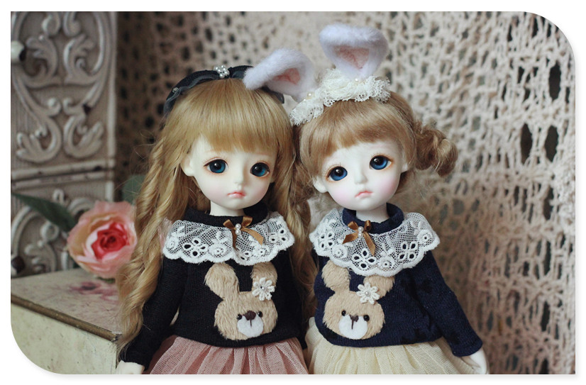YOSD  Bunny T-shirts Skirt Set design by Chillyqi